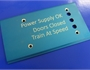 cnc engraved end plate with laser engraved text by Quartz Technical Services Ltd